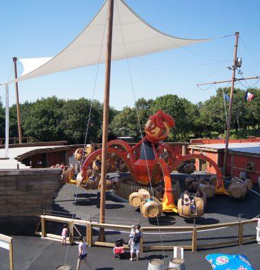 Parc attraction Bretagne : La pieuvre