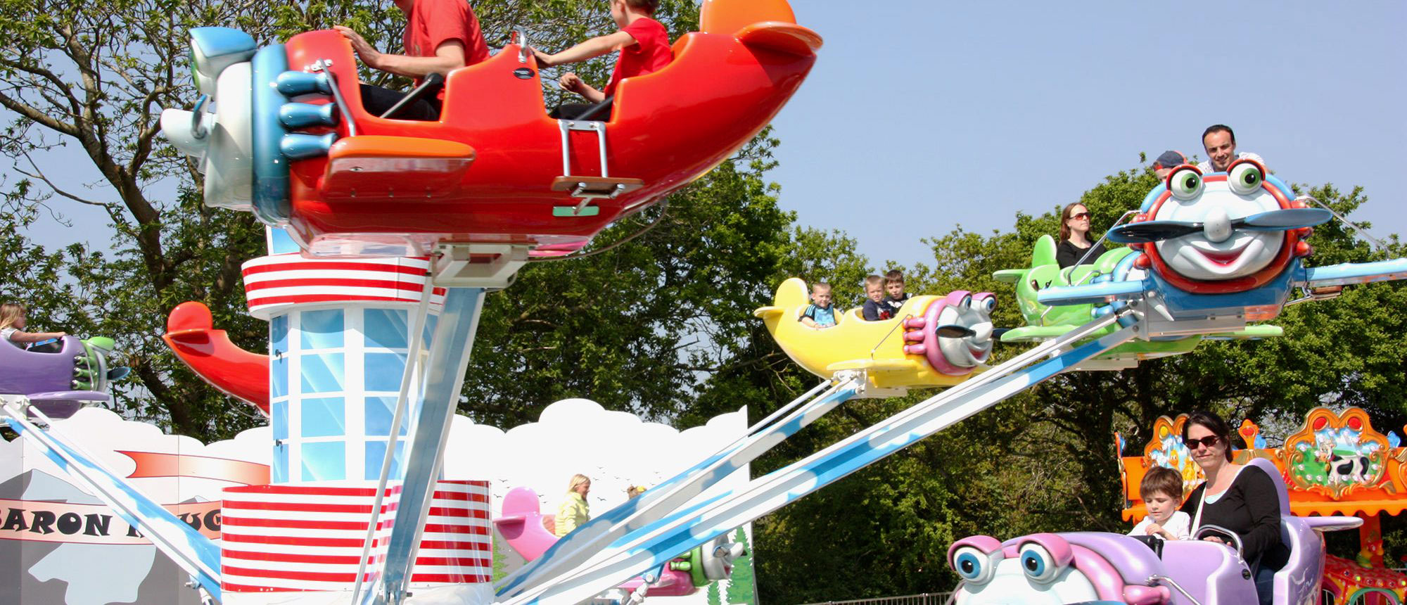 Parc attraction Bretagne : Baron Rouge