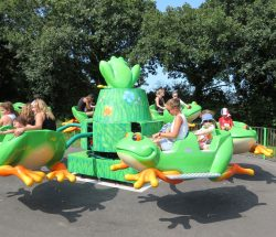 Parc attraction Bretagne : les grenouilles