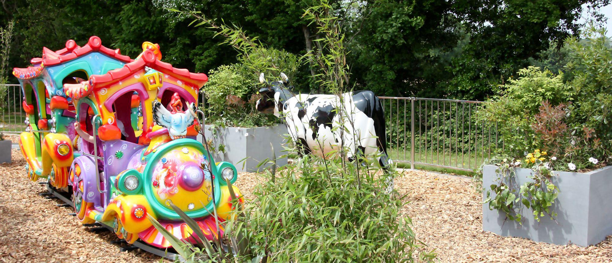 Parc en Bretagne animation pour les petits : Touch tchou