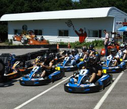 Parc d'attraction en Bretagne : Karting outdoor