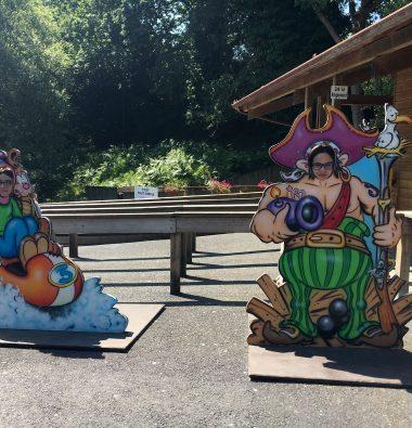Activité pour enfant au parc en Bretagne
